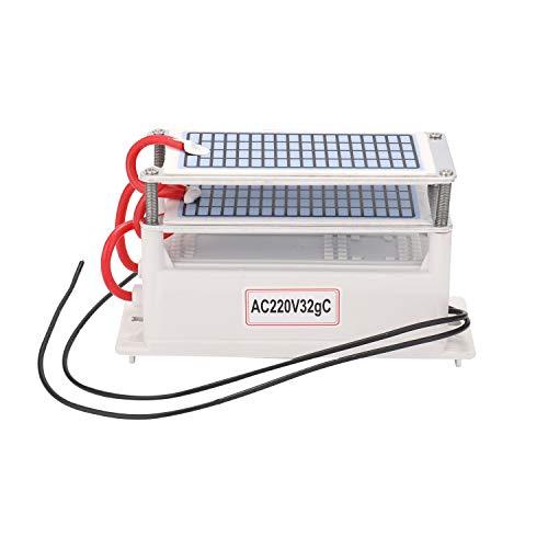 KKmoon Gerador portátil de ozônio 32g/h e purificador de filtro de ar de máquina para remoção de formaldeído para carro doméstico