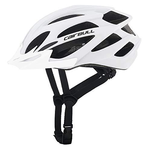 MTB Fahrradhelm Helm Bike Fahrrad Radhelm FüR Herren Damen Helmet Urban Fahrradhelm für Erwachsene (Weiß)