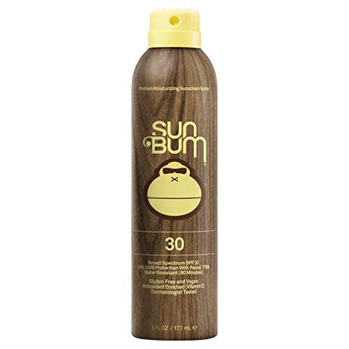 Sun Bum Original SPF 30 Sunscreen Spray | Vegan and Reef Friendly (Octinoxate & Oxybenzone Free) Broad Spectrum Moisturizing UVA/UVB Sunscreen with Vitamin E | 6 oz