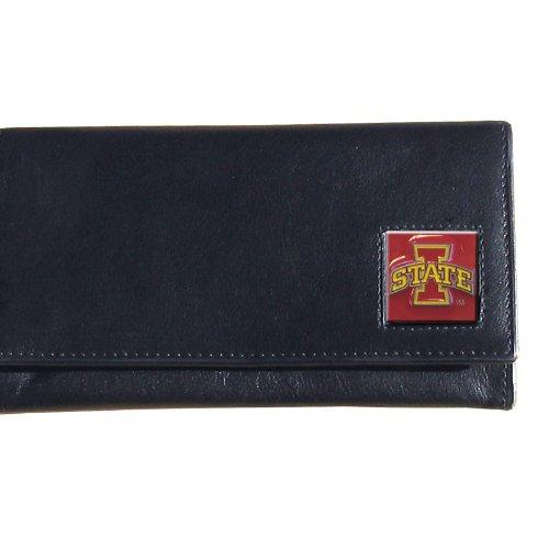 NCAA Siskiyou Sports Womens Iowa State Cyclones Leather Women's Wallet One Size Black