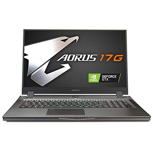 Compare Aorus 17G vs other laptops