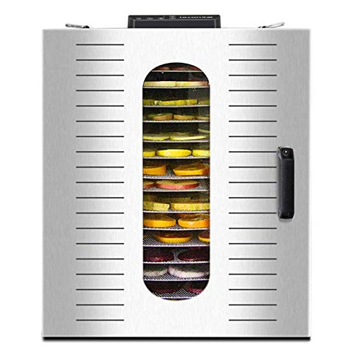 Best Buy! YHLZ Dried Fruit Machine Household Large Rose Honeysuckle Fruit Tea Dehydrator Air Dryer N...