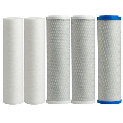 Watts Premier 500124 WP-4V Replacement Filter Pack for Reverse Osmosis System
