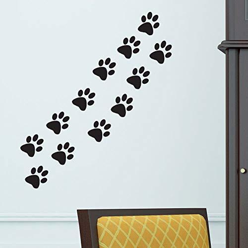 Zampe di Gatto Cane casa Vinile Wall Sticker Decor Decal Murale Kitchen Pet Auto Finestra Grafica Decorazione della Stanza da Parati Carta da Parati