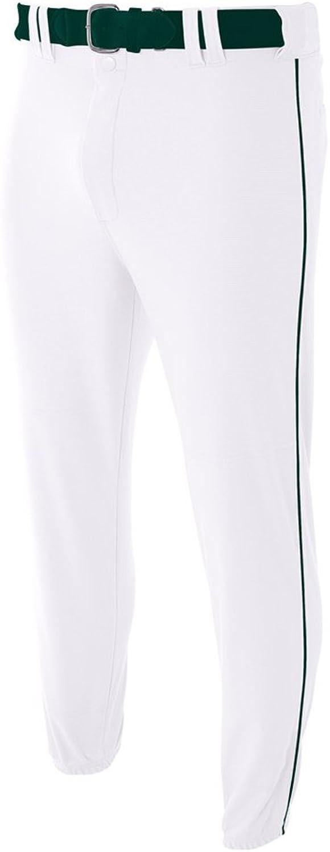 A4Herren n6178N6178-gry Pro-Style Elastic unten Baseball Hose, Herren, N6178
