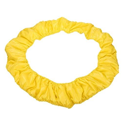 Eaarliyam Shade Trampolín la Cubierta del Borde del trampolín Surround cojín Trampolín Primavera Cubierta Lateral de protección para los Accesorios Exterior Los niños Trampolín Amarillas de 40