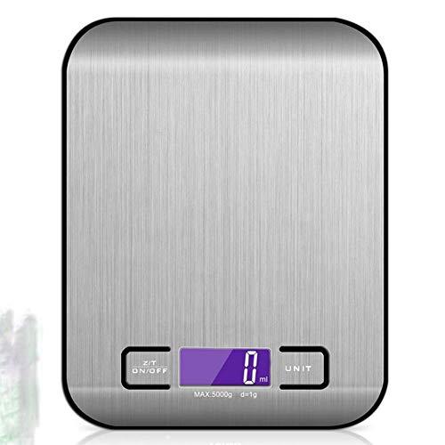 GGKLY Kleine elektronische digitale weegschaal, precisieweegschaal, elektronische weegschaal, keukenweegschaal, tarra-functie, voor koken, koffie, drug, sieraden