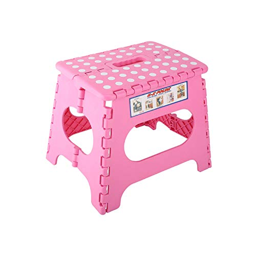 Amazing Housolution Folding Stool Portable Foldable Step Stool Compact Chair Seat With Non Slip Surface For Home Bathroom Kitchen Garden Etc Kids Adults Use Customarchery Wood Chair Design Ideas Customarcherynet