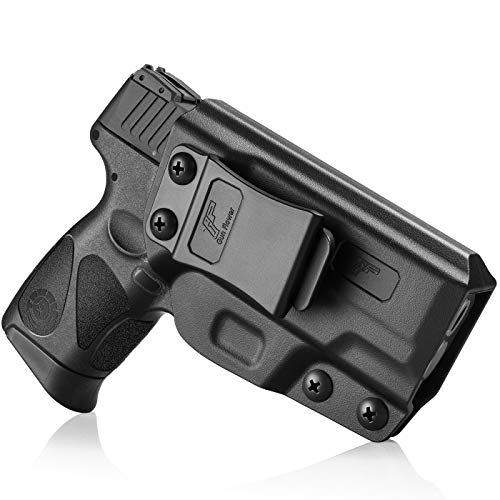 Taurus G2C Holster, Taurus G3C Holster, Taurus PT111 G2 Holster, Taurus PT140 Holster, Polymer IWB Black Concealed Carry Holster |Adj. Cant & Retention | Inside Waistband | Taurus Accessories