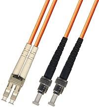 15 Meter Multimode Duplex Fiber Optic Cable (62.5/125) - LC to ST - Orange