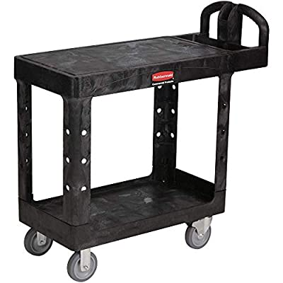 Rubbermaid Commercial Products Heavy-Duty, 500 lbs. Capacity, Utility/Service Carts