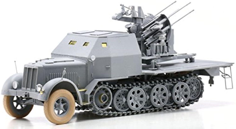 1 35 WW.II Deutsch Sd.Kfz.7   1 Rüstung 8t Halbketten 2cm 4 Doppel Flak 38 Flak-Artillerie
