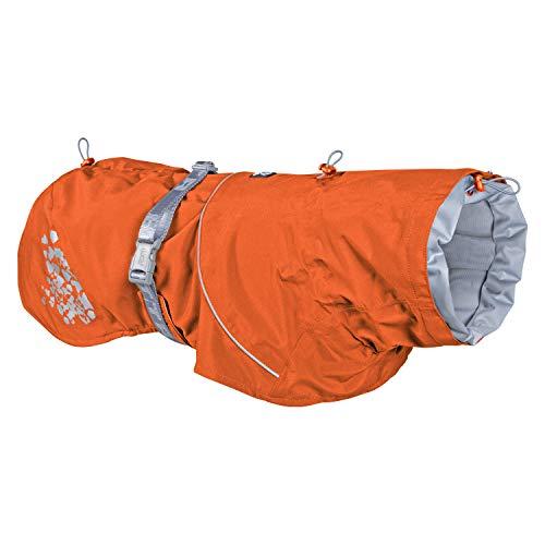 Hurtta Monsoon Hunde-Regenmantel, Sanddorn, 35,6 cm