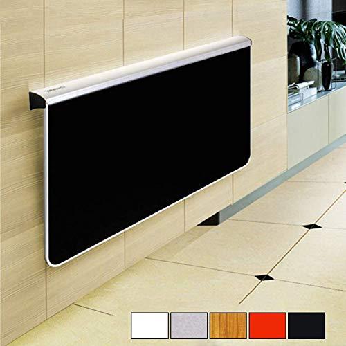 Vijf kleuren wandmontage, inklapbaar, geschikt voor kleine ruimtes voor laptop, praktisch, ruimtebesparend, eetkamer, triangel, uv-houder, ter verbetering van de wereldbol. 100*58*70cm Zwart