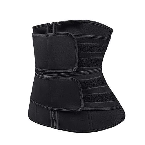 Faja Reductora Adelgazante de Neopreno para Mujer y Hombre - Cinturón Lumbar...