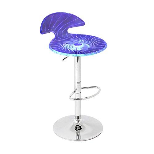 LumiSource Spyra Light-up Barstool