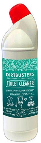 Dirtbusters Toiletten- und Macerator-Reiniger und -Entkalker - geeignet für Abwassertanks, Macerator-Toiletten uvm. - 1 Liter Flasche