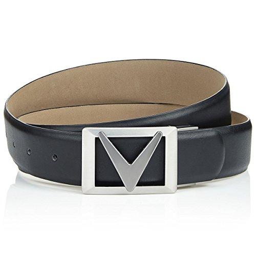 Callaway Chev Belt II Cinturón, Hombre, Negro (Negro 002), (Tamaño del Fabricante:Unica)