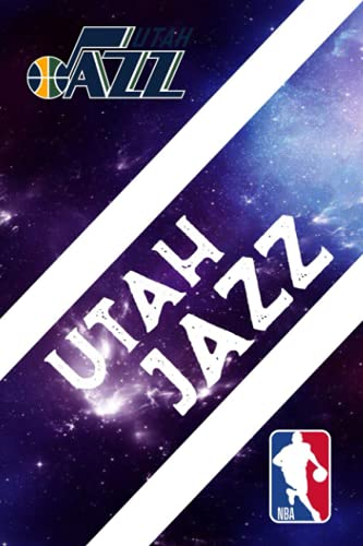 Sport Notebook Utah Jazz Notebook : Enjoy An Exciting Activity With Logo Team - Fan Essential