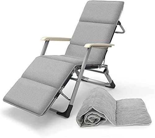 Cómodo cojín para silla de salón, interior y exterior, asiento alto, cojín para silla mecedora (no silla), color gris