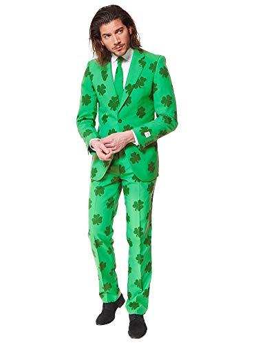 OppoSuits Herren Osui-0021 Business Anzug Hosen Set, St. Patricks, 54 EU