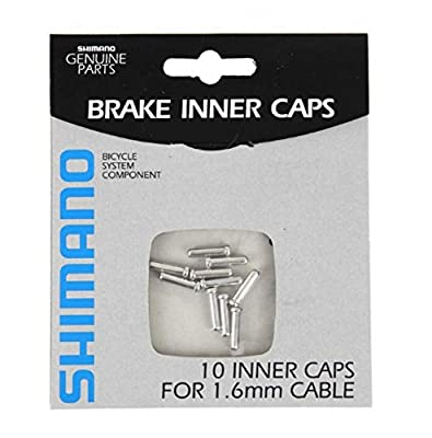 Shimano Brake Cable End Cap 10 Pack (1.6mm)