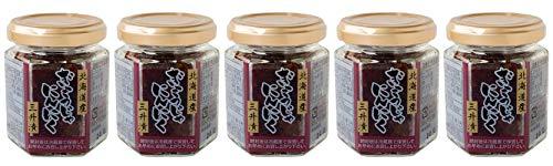 行者にんにく 三升漬 100g×5本セット(幻の山菜行者ニンニクを使った北海道の郷土料理)ぎょうじゃにんにくのさんしょうづけ ご飯のお供・おつまみにオススメのアイヌネギの惣菜(ヒトビロ キトピロ ヒトビル ヤマニンニク キトビロ エゾネギ)