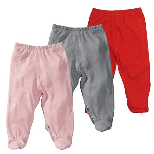 tea, ocean, chocolate Baby Soy Essential 3-piece Slip-on-Pant Set for Boys