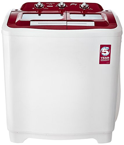 Godrej 7 kg Semi-Automatic Top Loading Washing Machine (GWS 7002...