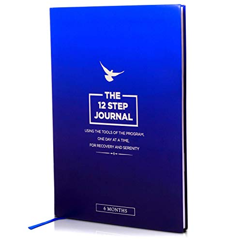 The 12 Step Journal - Using The Tools of the Program, One Day at a Time, For Recovery and Serenity. Sobriety Gifts for Men and Women. Alcoholics Anonymous, Narcotics, Addiction, Sober Daily Reflections.