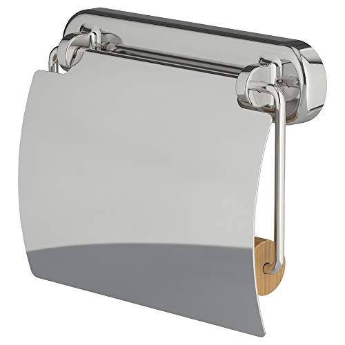 IKEA 403.285.95 Voxnan Toilettenpapierhalter, Chrom-Effekt