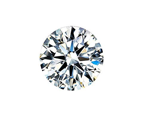 1.2 Carats D Color VVS1, Excellent Cut Moissanite Stone Loose Diamond Gemstone with GRA Certificate for Jewelry Making (1.2)