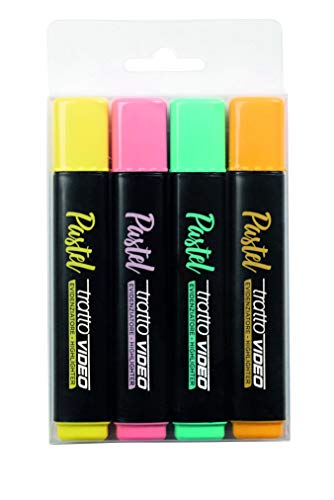 TRATTO VIDEO PASTEL Busta 4 pz