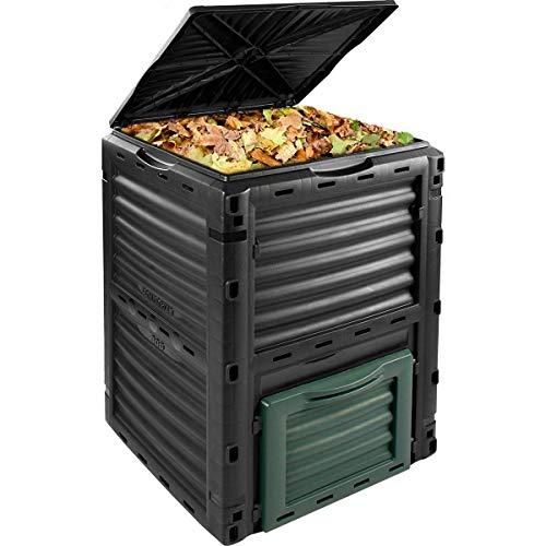 300 Litre Garden Compost Bin Composter Waste Bin Eco Compost Converter...