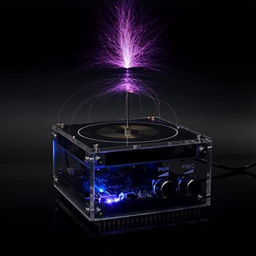 Bluetooth Musik Teslaspule Bogen Plasma Lautsprecher Drahtlose Übertragung Experiment Tesla Coil Wissenschaft Bildung Desktop Spielzeug Modell SSTC
