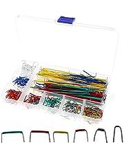 YINETTECH 560 stks Jumper Wire Kit 14 Lengtes Diverse Voorgevormd Broodplank Jumper Harnas U-vorm Soldeerloze Jumper Draad