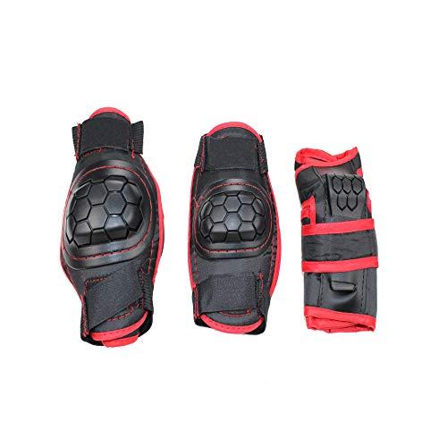 CXBHB Sommeratmungsaktives Anti-Fall Kinderfahrrad Skateboard Unruh Rutschschutz Kinderschutzset Schutzausrüstung Set fürM