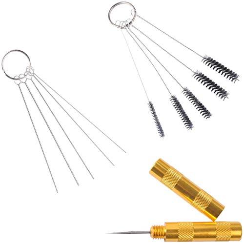 Kit de Herramientas para Limpieza y Reparación de Aerógraf