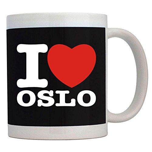 Teeburon I Love Oslo Taza