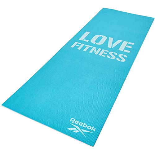 Reebok Love Fitnessmatte, blau