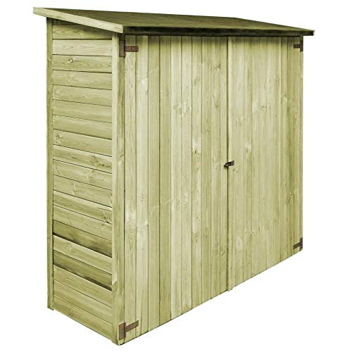 ITAPO Garden Tool Shed FSC Impregnated Pinewood 192x76x175 cm