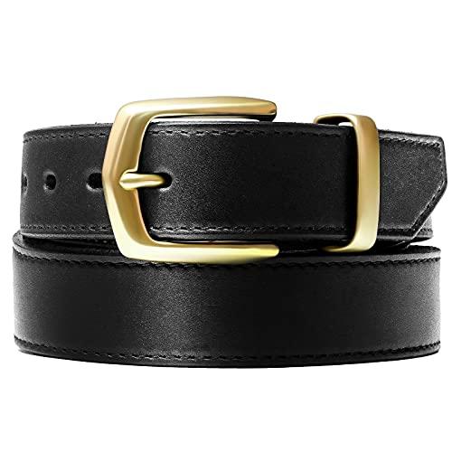 GODKOL Leather Gun Belt with Steel Core, Gun Belts for Men,...