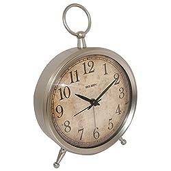 Westclox 49829V Big Ben Metal Case Decor Alarm Clock with Quartz Accuracy