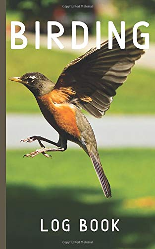 Birding log book: keep track of birds you observe with this journal, great gift idea for birders