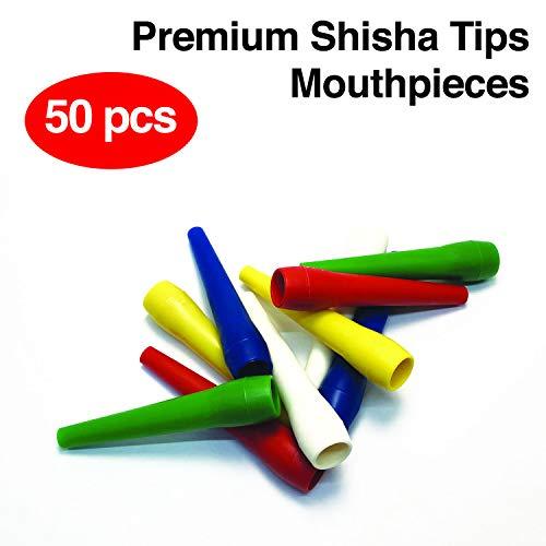 Accessori narghilè in plastica Bocchini per narghilè/Narghilè, 50 x Rocket Tips