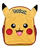 Pika Pika Luxury 3D Plush Fronted Pikachu Backpack School Bag