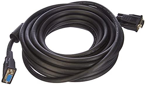 LogiLink - Cable de extensión de Monitor VGA Macho/Hembra (10 m) Color...