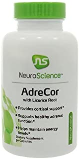 NeuroScience AdreCor With Licorice Root, 90 Capsules by NeuroScience