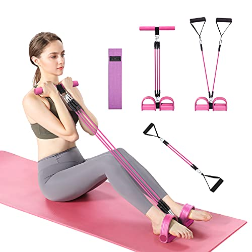 Burn Excess Fat Arm Exercise Equipment, Hip Anti-Skid Resistance Bands Workout Pedal Resistance Band Sit Up Trainer Band, Resistance Bands for Women Exercise Equipment for Home Workouts