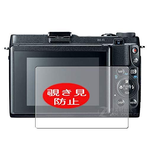 VacFun Pellicola Privacy, Compatibile con Canon PowerShot G1 X Mark II / G1X Mark 2 (Non Vetro Temperato) Protezioni Schermo Cover Custodia